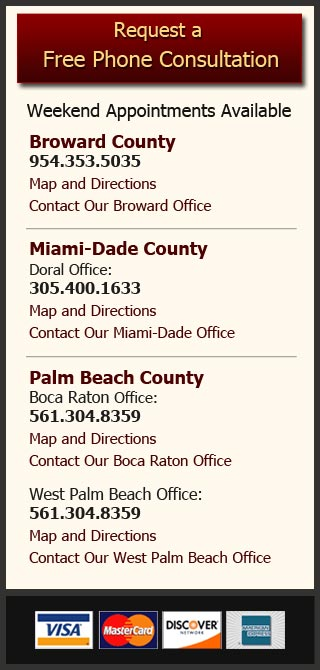 Men's rights attorney South Florida locations